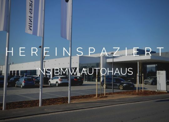 HEREINSPAZIERT BMW
